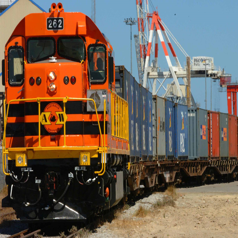 China block train container to Belarus railway lines
